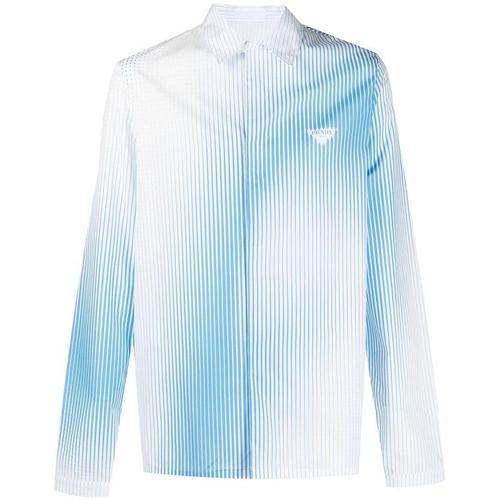 Prada Hemd mit Nadelstreifen