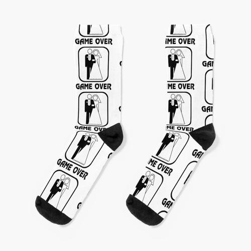 Lustiges Hochzeitsspiel vorbei Socken