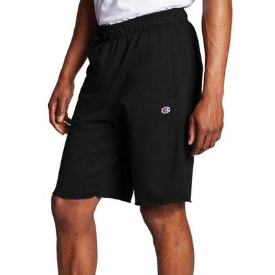 Champion Mens Solid Powerblend Fleece Shorts