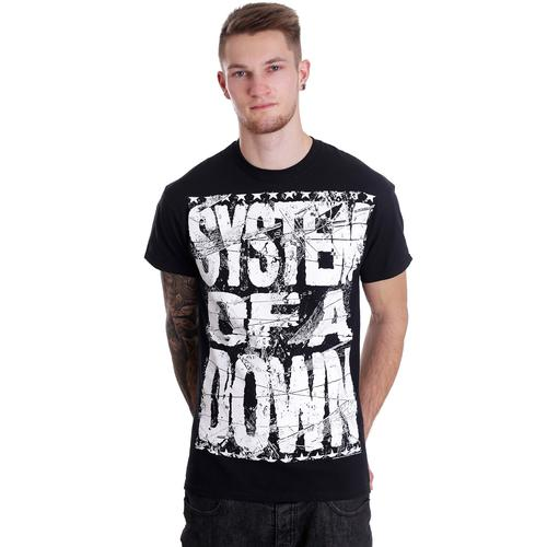 System Of A Down - Shattered - - T-Shirts