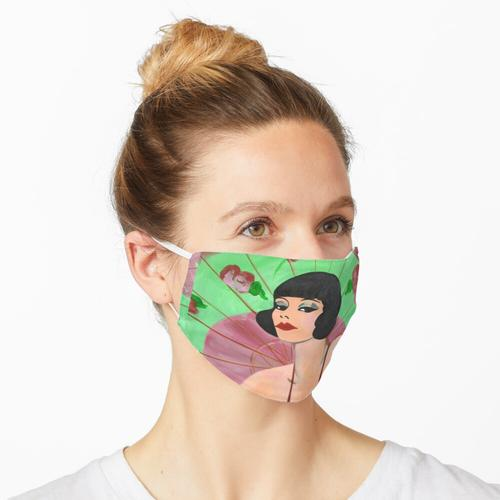 Flapper Girl Maske