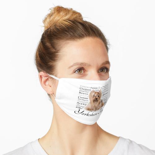 Yorkie-Eigenschaften Maske