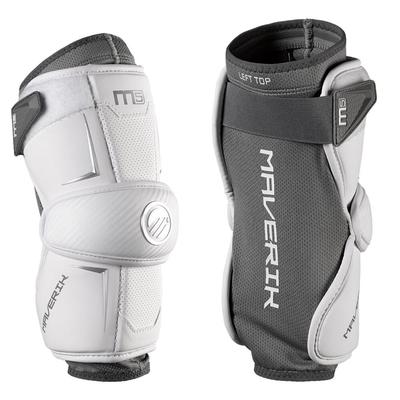 Maverik M5 Men's Lacrosse Arm Pads White