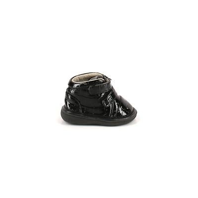 Wee Squeak Ankle Boots: Black So...