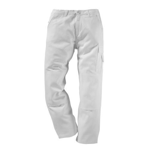 Kübler Arbeitshose Quality-Dress, mit Kniepolstertasche weiß Herren Arbeitshosen Arbeits- Berufsbekleidung