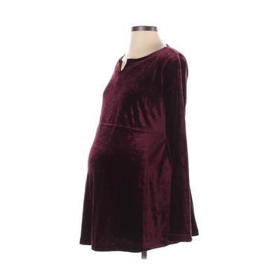 Motherhood Long Sleeve Top Burgu...