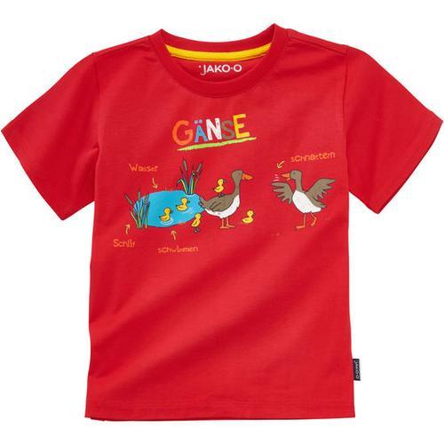 T-Shirt Lerneffekt, rot, Gr. 104/110