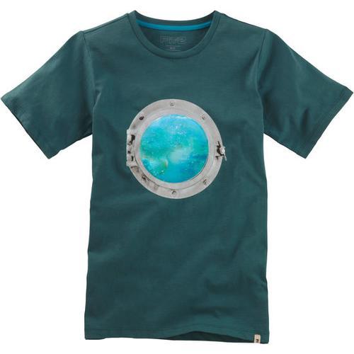 T-Shirt Hologramm, blau, Gr. 164/170