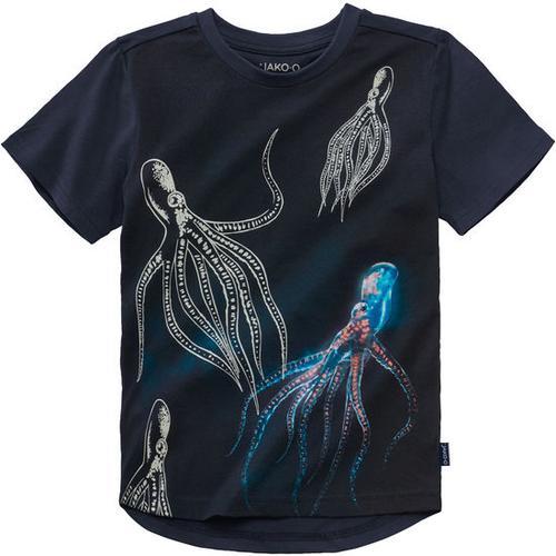 T-Shirt Farbwechsel, blau, Gr. 152/158