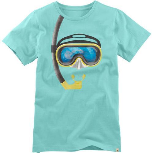 T-Shirt Hologramm, türkis, Gr. 128/134