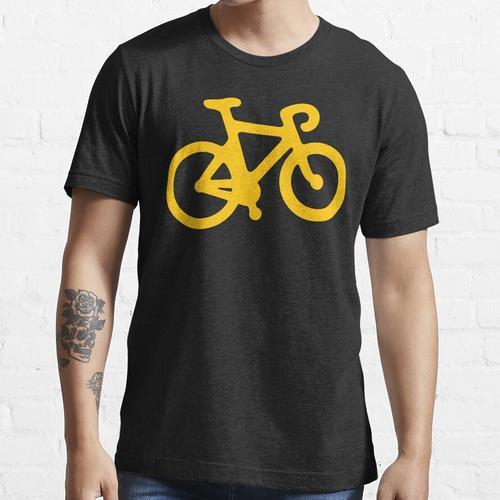 Gelbes Fahrrad Essential T-Shirt