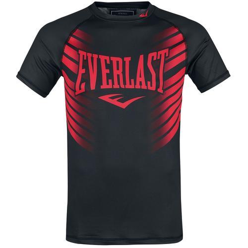 Everlast Hirataka Herren-T-Shirt - schwarz rot