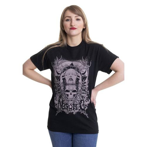 Necrotted - Deer Head - - T-Shirts