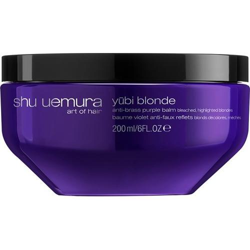 Shu Uemura Yubi Blonde Neutralisierende Purple Haarmaske 200 ml