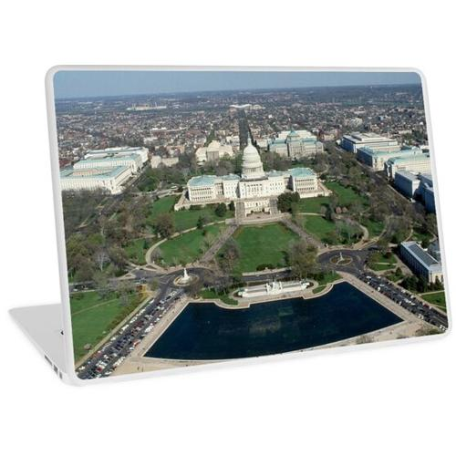 Capitol Hill Luftbild 2 Laptop Skin
