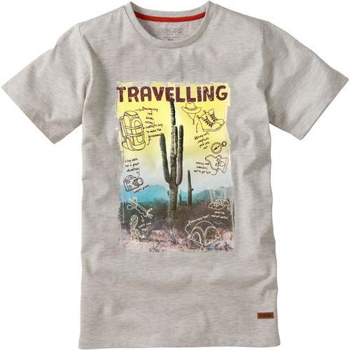 T-Shirt Travel, weiß, Gr. 152/158