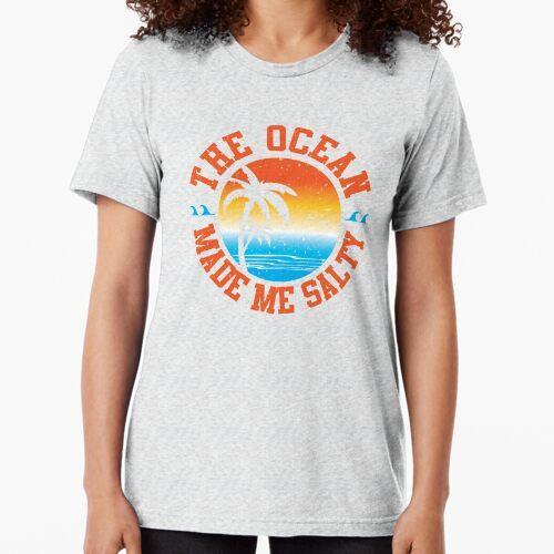 Der Ozean hat mich salzig gemacht Vintage T-Shirt