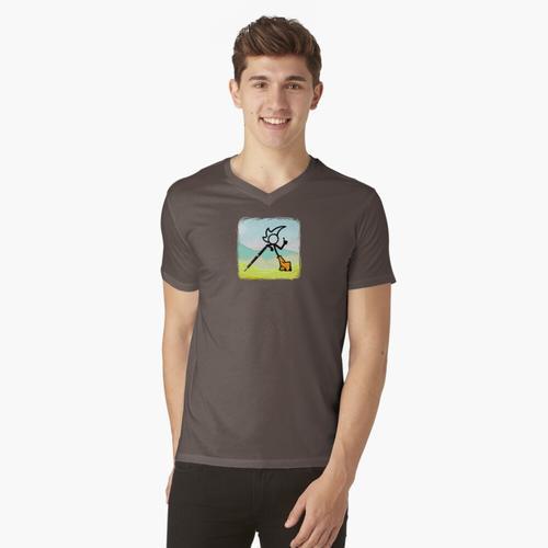 Super ausgefallene Hosen Mann t-shirt:vneck
