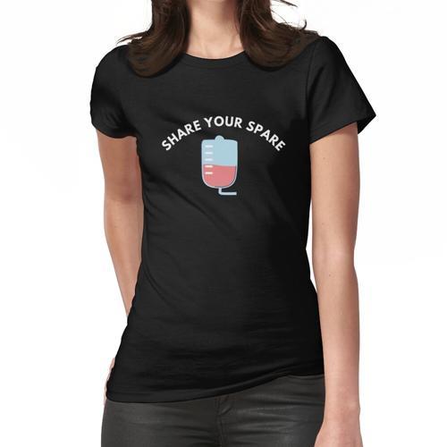 Teilen Sie Ihr Ersatzteil Frauen T-Shirt