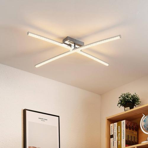Lindby Alaara LED-Deckenleuchte, RGB-Farbwechsel
