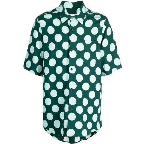 AMI Gepunktetes Hemd