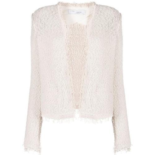 IRO Ausgefranste Tweed-Jacke