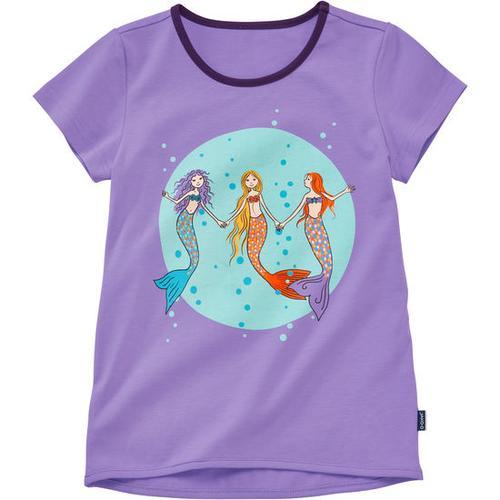 T-Shirt Meerjungfrau, lila, Gr. 128/134