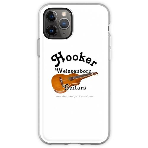 Hooker Weissenborn Gitarren Flexible Hülle für iPhone 11 Pro