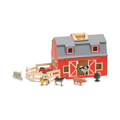 Zusammenklappbare und tragbare Holzscheune