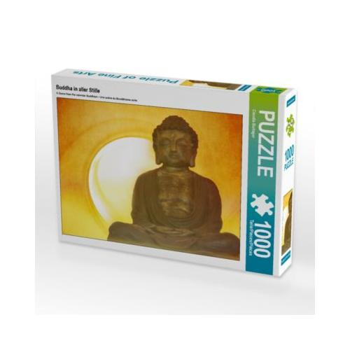 Buddha in aller Stille Foto-Puzzle Bild von Digital-Art Puzzle