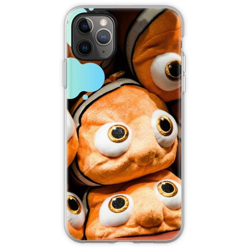 Nemo Stofftiere Flexible Hülle für iPhone 11 Pro Max