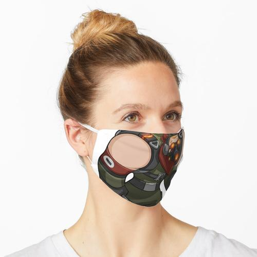 Anti-Kakerlaken-Krieg Maske