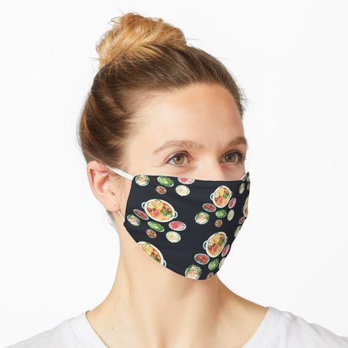 Asiatischer Hot Pot Maske