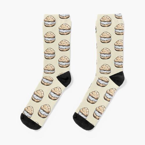 Brandteig Socken