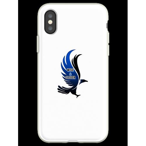 Wise & Clever Blue Eagle HARRYPOTTER Flexible Hülle für iPhone XS