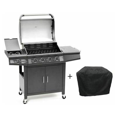 CosmoGrill 4+1 Pro Gas BBQ Barbe...