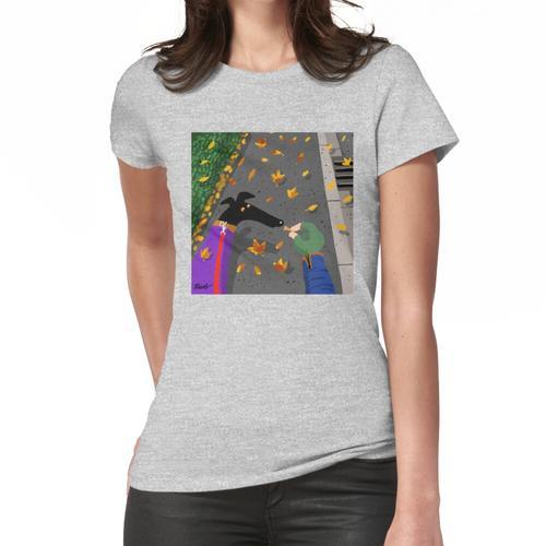 Herbst mit einem Keks Frauen T-Shirt