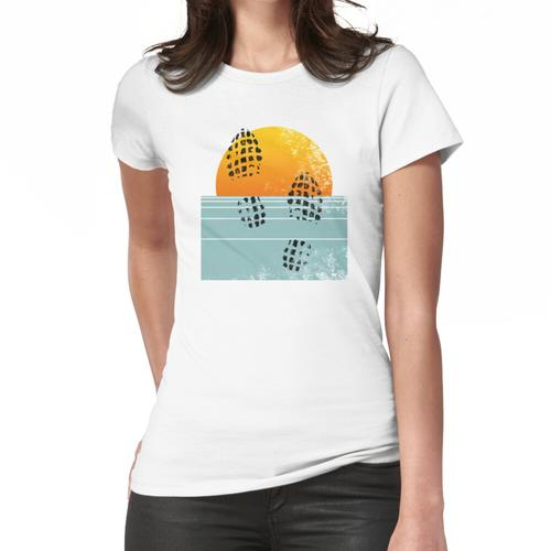 Sunset Run • Dreibeiniger Däne Frauen T-Shirt