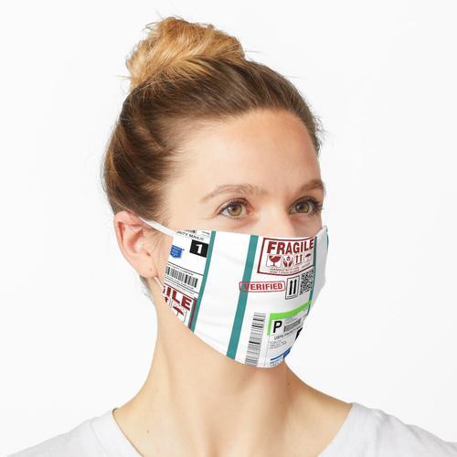 Versand Versandetikett Maske
