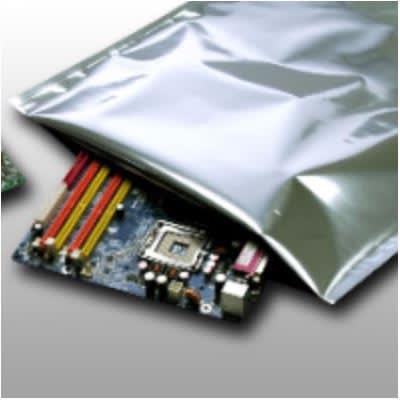 """LK Packaging BB361218 Barrier Bag for Electronic Components - 12"""" x 18"""", 3.6 mil, Gray"""