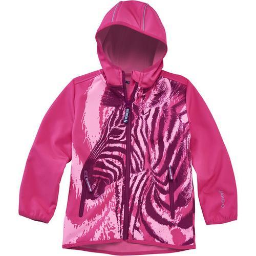 Softshell-Jacke Zebra, pink, Gr. 152/158