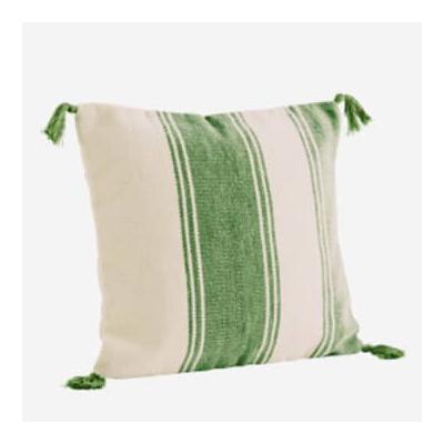 Madam Stoltz - Cushion With Dark...