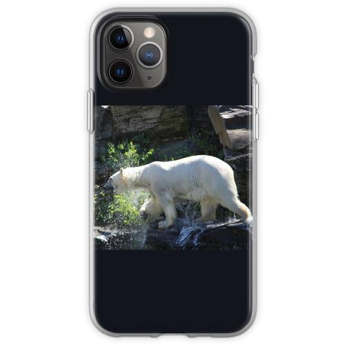 Eisbär Wasserdruck Flexible Hülle für iPhone 11 Pro