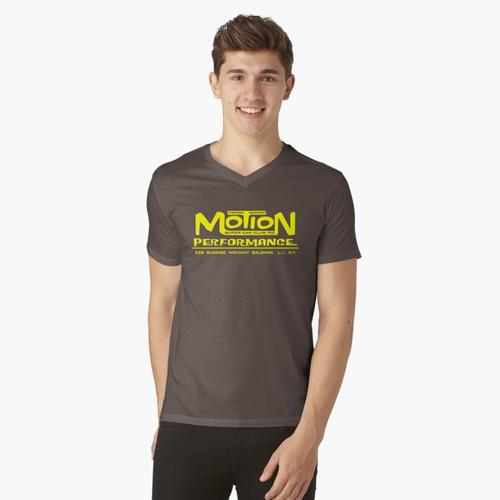 Bewegungsleistung t-shirt:vneck