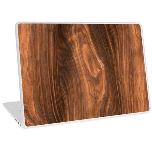 Walnussholz Textur 2 Laptop Skin