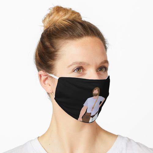 Alan mit Schulranzen - der Kater Maske