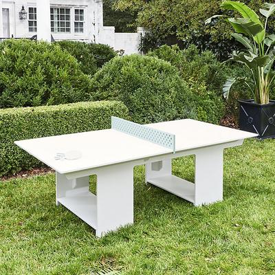 Del Ray Ping Pong Table White - Ballard Designs
