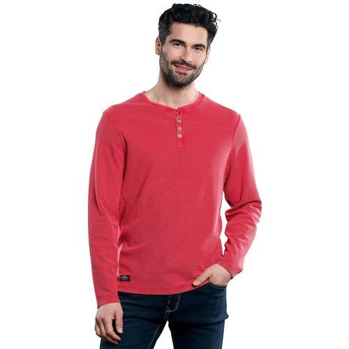 Henley Shirt Engbers Tomatenrot