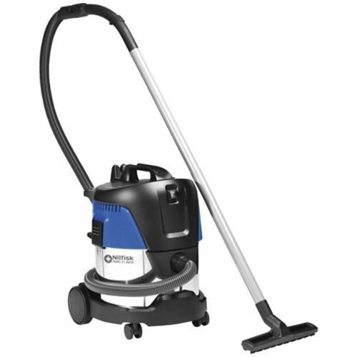 Nilfisk - Nass-/Trockensauger AERO 21-21 PC INOX, EdelstahlBehälter, mit Einschaltautomatik