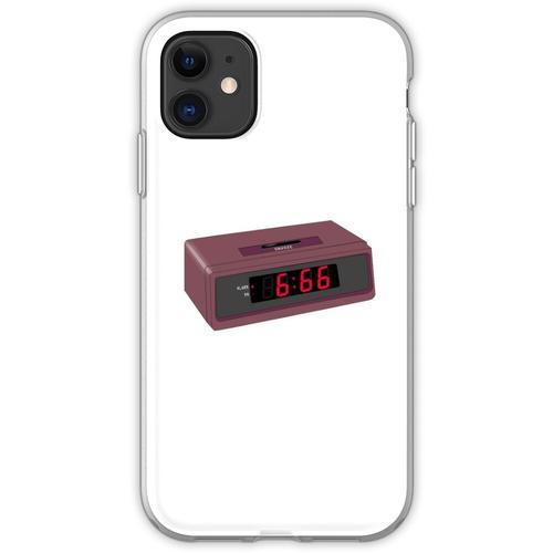 6:66 Teufel Wecker Flexible Hülle für iPhone 11